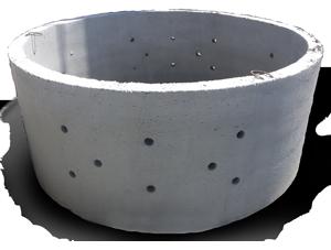 бетонные кольца с перфорацией