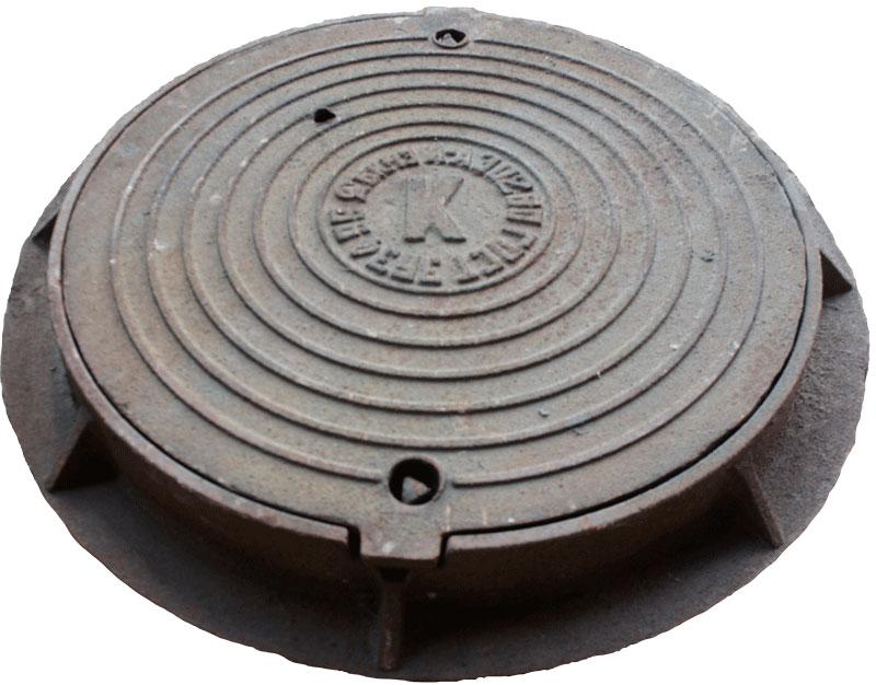 Прямоугольный люк с запорным устройством